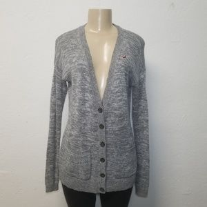 HOLLISTER Knitted Oversized Cardigan XS